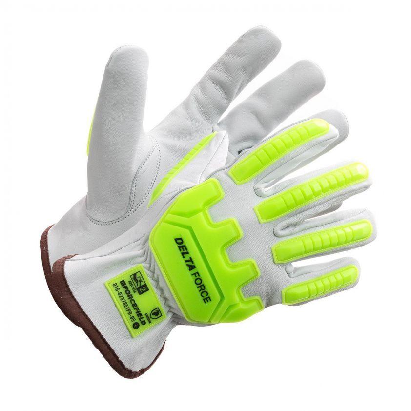 Deltaforce Goatskin Impact Glove