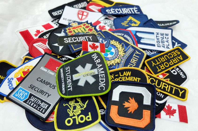 Custom Company Crests & Patches
