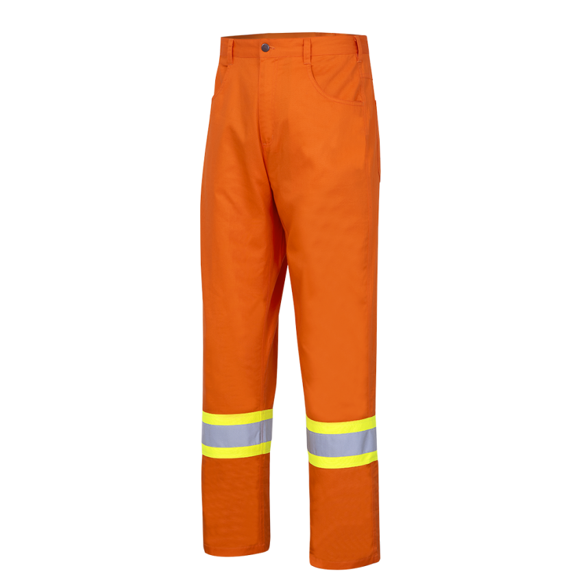 Hi-Viz Ultra-Cool Cotton Safety Pants -