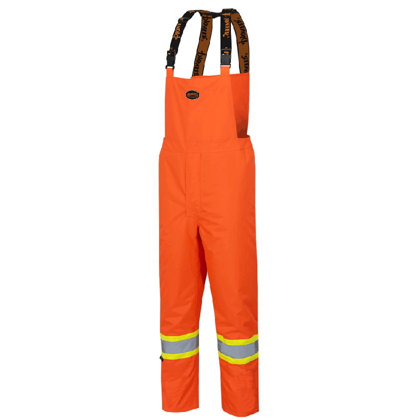 "Hi-Viz ""The Rock"" 300d Oxford Polyester Insulated Bib Pants"