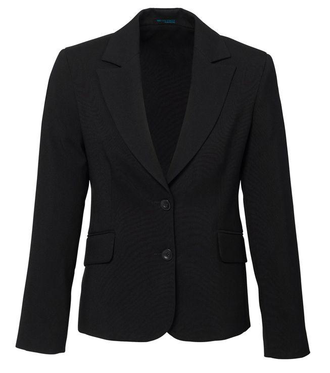 Womens Polyester Short-Mid Length Jacket