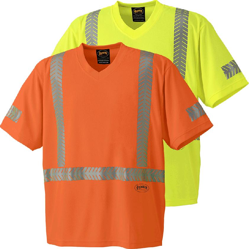 Coolpass® Fabric Hi-viz Safety T-shirt