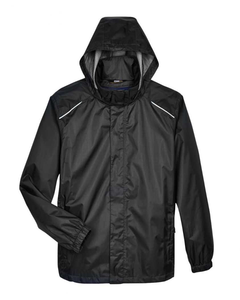 Core 365 Men's Climate Seam-Sealed Lightweight Variegated Ripstop Jacket