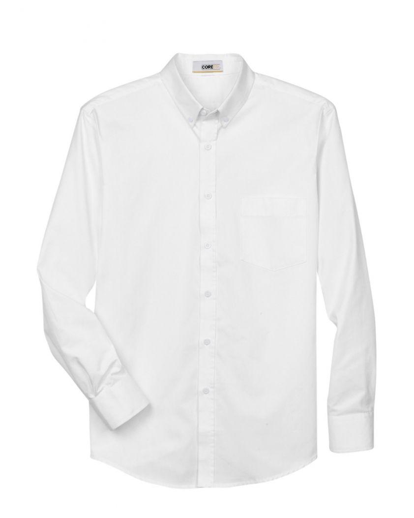 Core 365 Men's Operate Long-Sleeve Twill Shirt