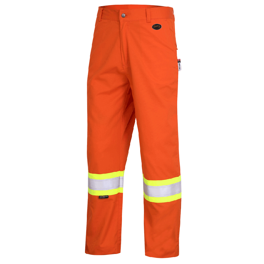 FR-TECH® FR/ARC RATED 7 OZ Hi-Viz Safety Pants