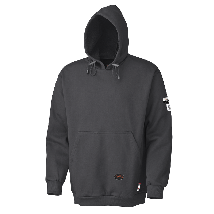 FR/ARC RATED Pullover Style Heavyweight Hoodie - 100% Cotton Fleece