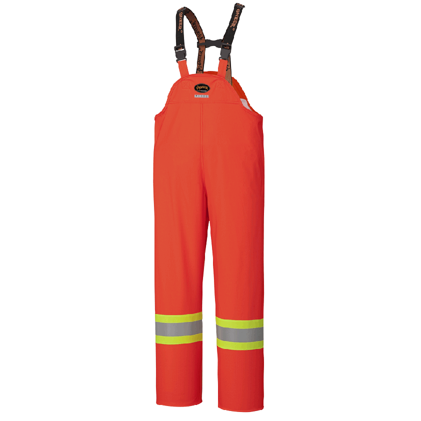 FR Waterproof Hi-Viz Safety Bib Pants