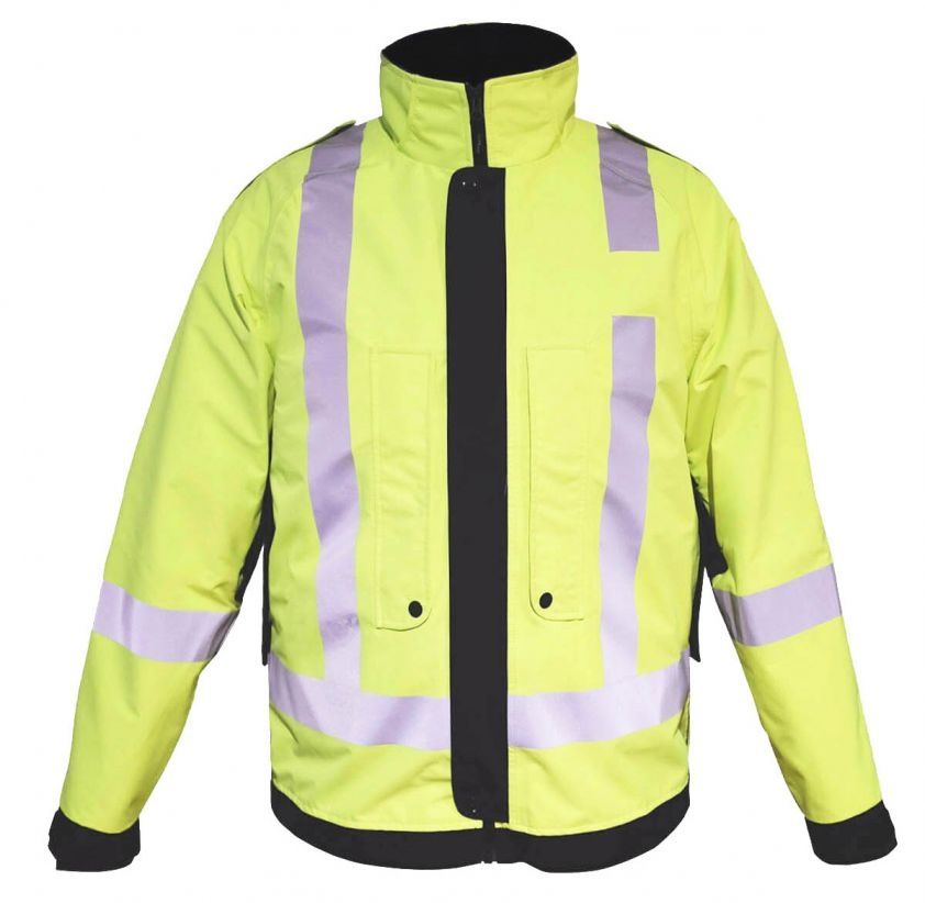 Tuffwear Waterproof Hi-Vis 3in1 Jacket with Tactical Fleece Jacket