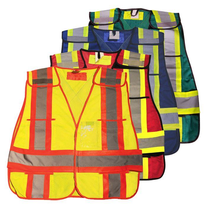100% Polyester Soft Mesh Safety Vest