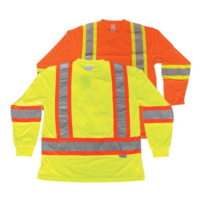 100% Polyester Traffic Safety Shirt