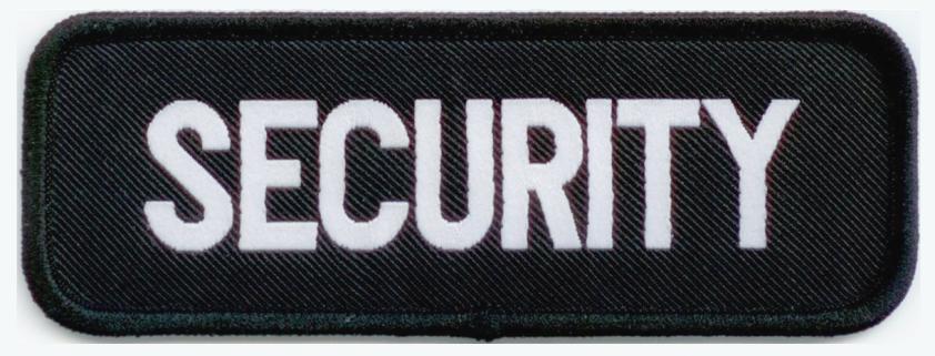 Woven Security Bar